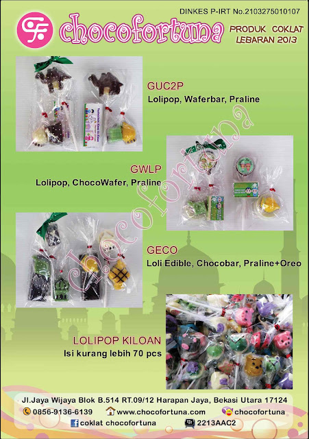 Katalog Coklat Edisi Lebaran 2013