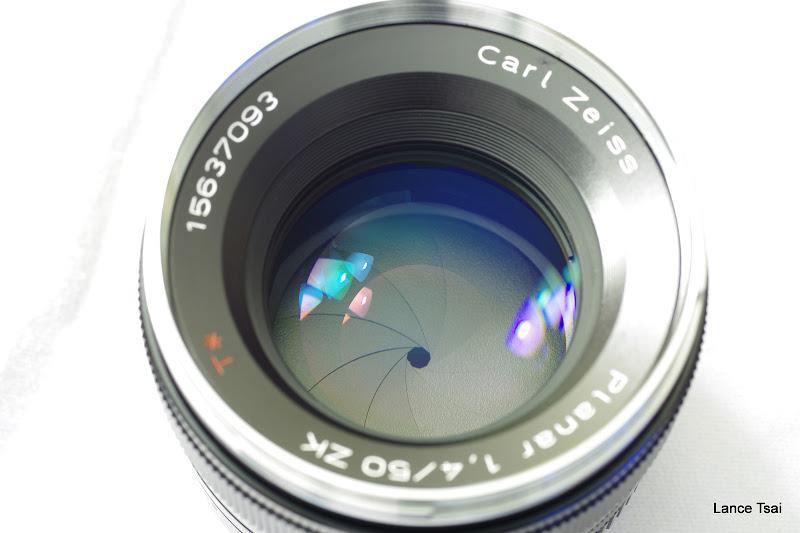 K-01+Carl Zeiss Planar T* 1.4/50