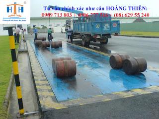 Cân xe tải 6m chính hãng ở trạm cân 40 tấn