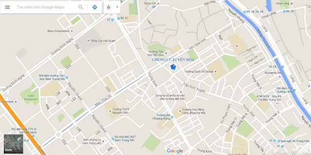 vị trí chung cư chelsea residences