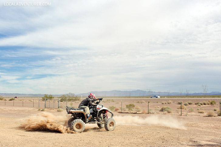 ATV Tours with DeTour Vegas // Stuff to Do in Las Vegas.