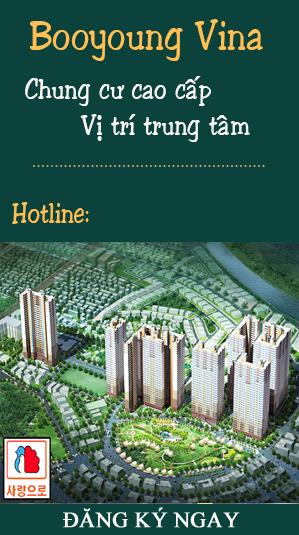 Chung cư Booyoung Vina Mỗ Lao