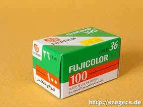 Arab exportra gyártott Fujicolor 100