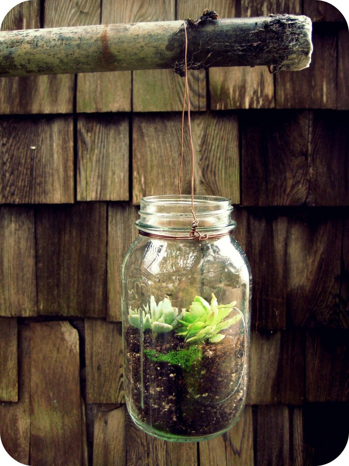 give me all the flowers diy mason jar terrarium. Black Bedroom Furniture Sets. Home Design Ideas