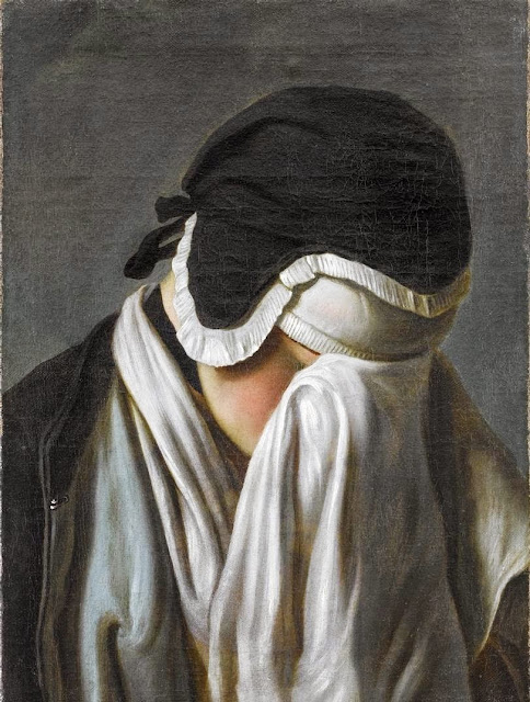 Pietro Antonio Rotari - Portrait of a Young Girl Hiding Her Eyes