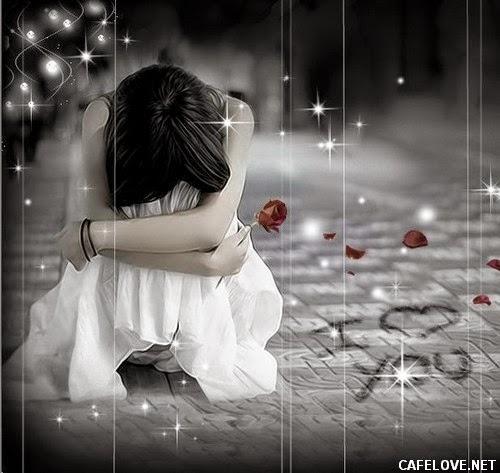 Cô gái ôm mặt khóc vì chia tay tình yêu