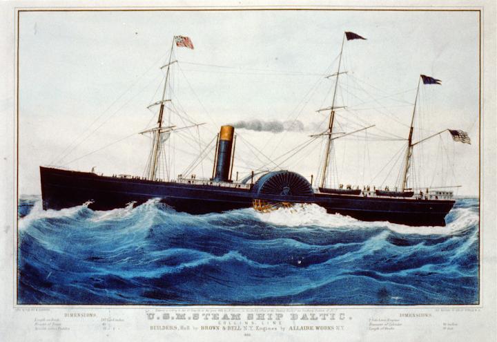 U.S.M. steam ship Baltic.