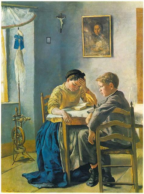 Hans Thoma - Die Geschwister