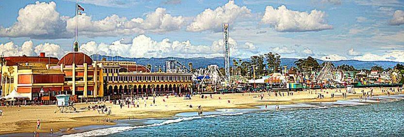 Santa Cruz Beach Boardwalk   Santa Cruz Clam Chowder Cook