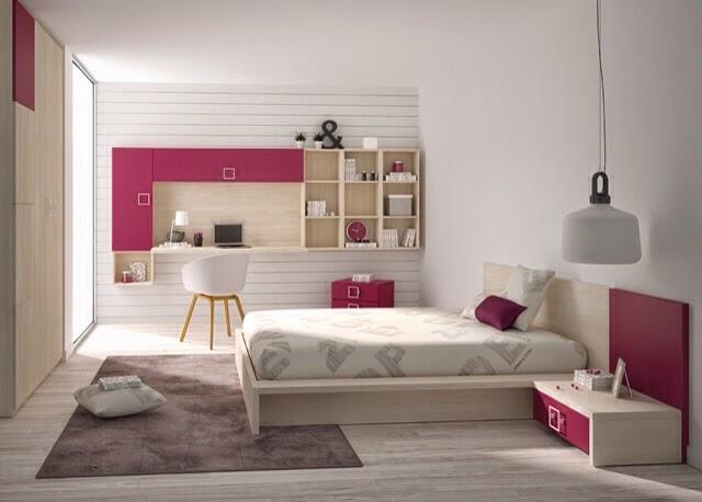 Que son los dormitorios juveniles que ahorran espacio for Distribucion habitacion juvenil