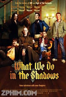 Chúng Ta Làm Gì Trong Bóng Tối - What We Do in the Shadows (2014) Poster