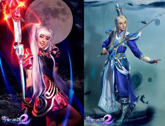 Lộ diện cosplay quảng bá Thiện Nữ U Hồn 2 - Ảnh 2