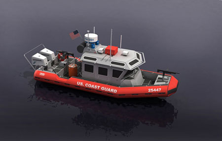 USCG Response Boat Papercraft