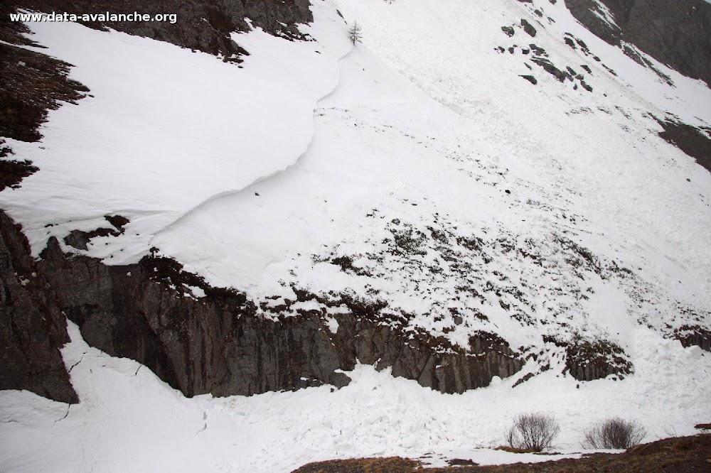 Avalanche Maurienne, secteur Grand Galibier, Roche Olvéra - Photo 1 - © Duclos Alain