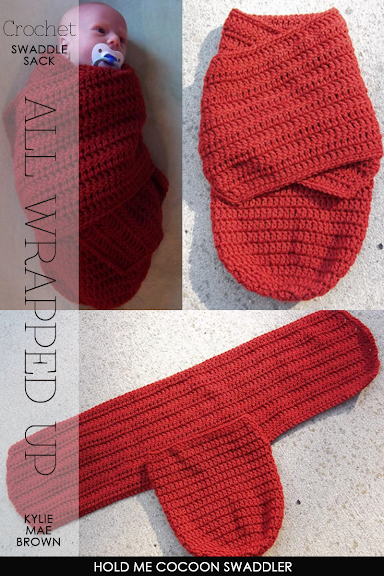 Crochet Pattern For Swaddle Blanket : DiaryofaCreativeFanatic