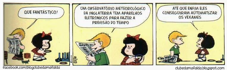 Clube da Mafalda: Tirinha 580