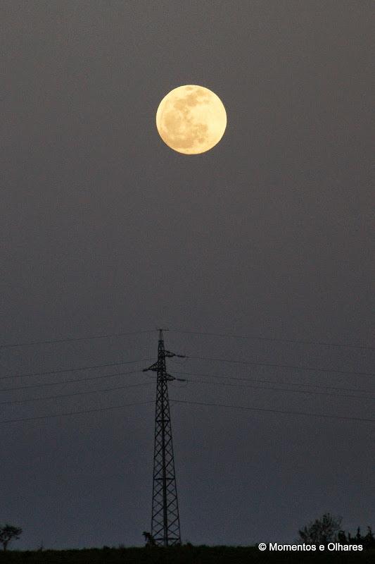 Lua cheia no Alentejo