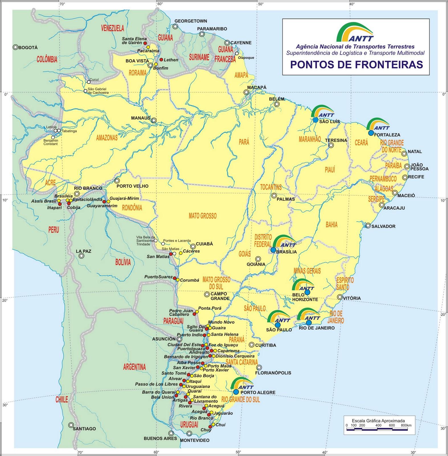 maps of Brazil - a link atlas