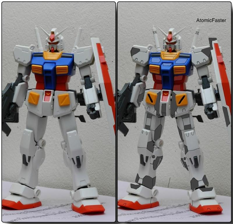 RX78-2 Ver.KA Custom โดย atomicfaster