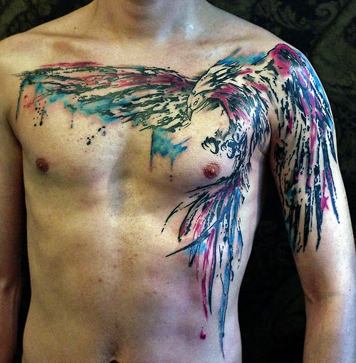46 best phoenix tattoos designs and ideas. Black Bedroom Furniture Sets. Home Design Ideas