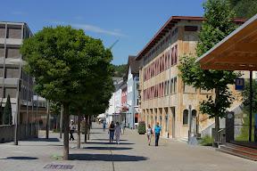 Центральная улица Вадуца - достопримечательности Вадуца