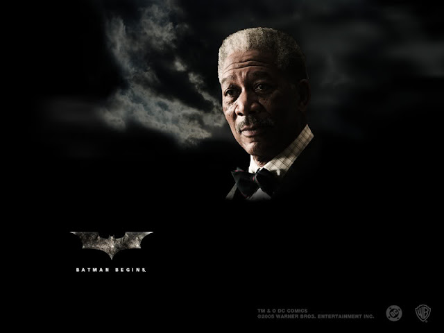 Batman Begins Morgan Freeman as Lucius Fox