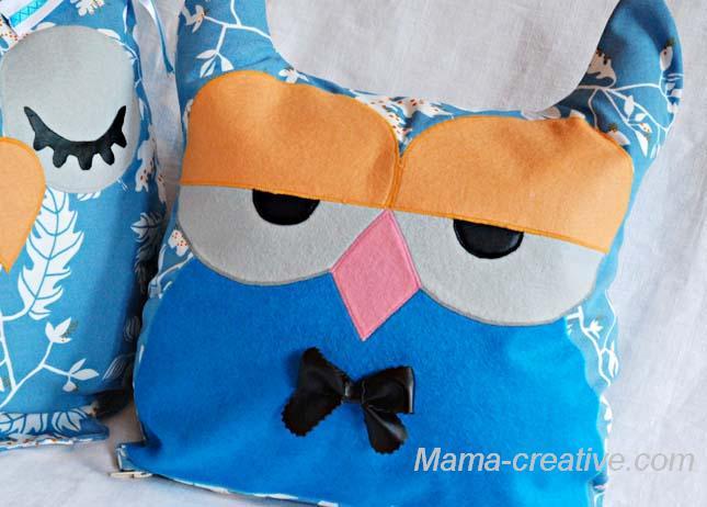 Подушка-сова