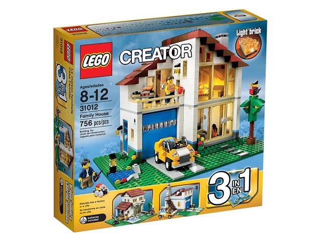 31012 レゴ ファミリーハウス(クリエイター)