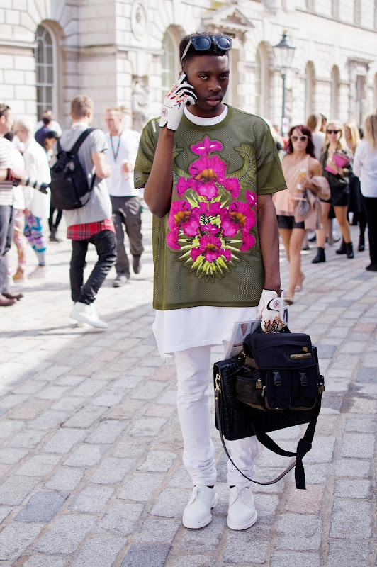 Street Style at London Fashion Week Spring/Summer 2013