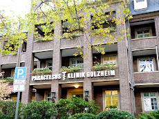 Paracelsus-Klinik Golzheim, Außenansicht.