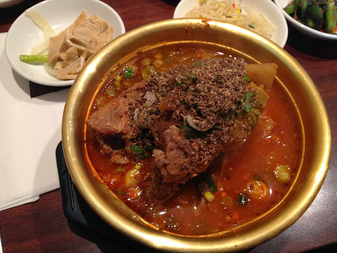 Pork Bone Soup at Lim Ga Ne