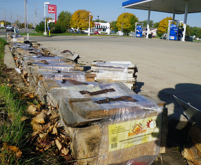 Firewood on sale at nearby gas station.  Might be the vector, might not.  Click to embiggen.