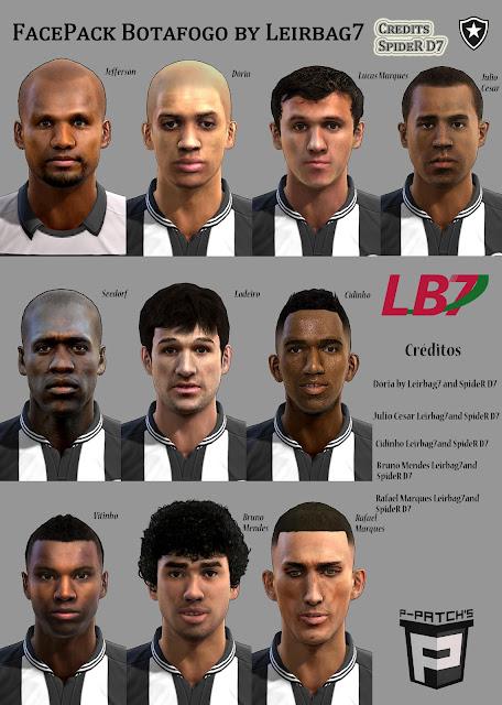Botafogo Facepack - PES 2013
