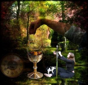 Meditation Ascii Image