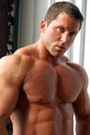Giant Muscular Beast Bodybuilder