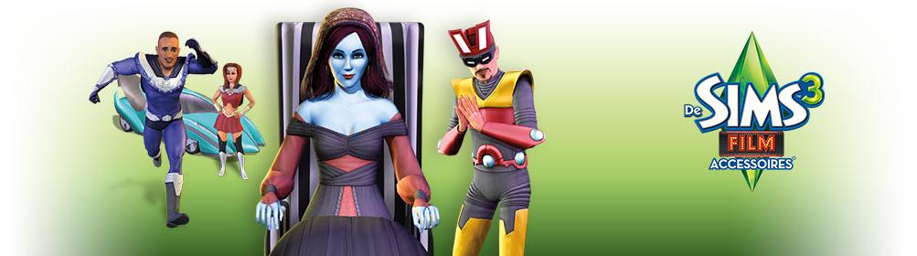 Sims 3 Film accessoires banner