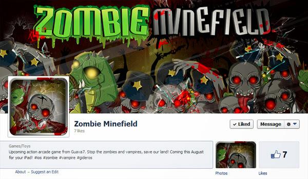 Guava7 sắp trình làng game mới Zombie Minefield 2