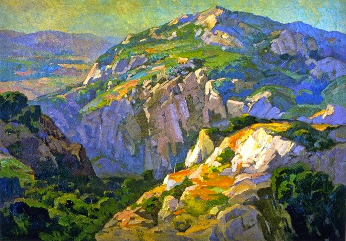 Franz Bischoff - Canyon Green