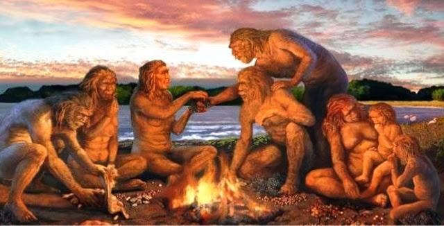 Resultado de imagem para o fogo na pré-história
