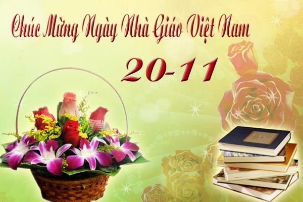 Ảnh thiệp chúc mừng ngày lễ hiến chương 20-11