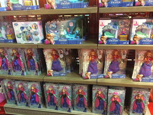 Elsa doll Disney World