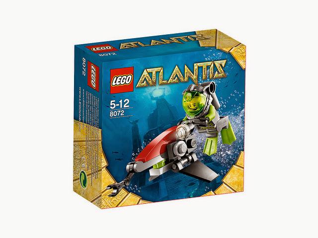 8072 レゴ アトランティス シー・ジェット