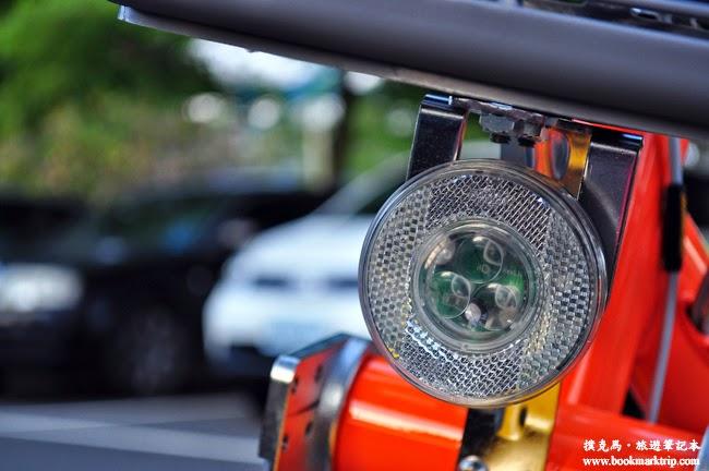 YouBike微笑單車燈座設計