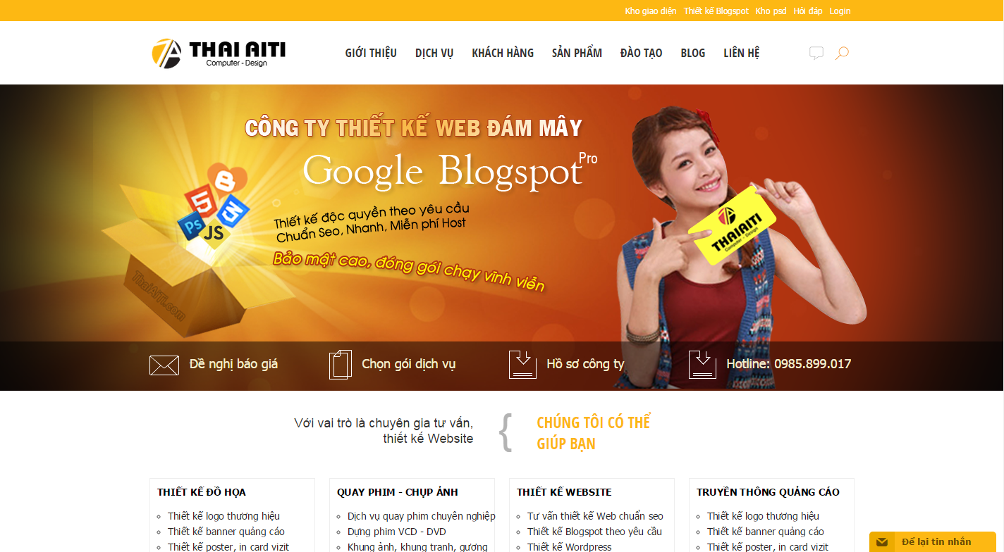 Công Ty Thiết kế Web Uy tín