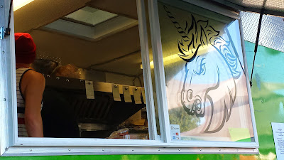 Angry Unicorn Food Truck and their Unicorn Burger