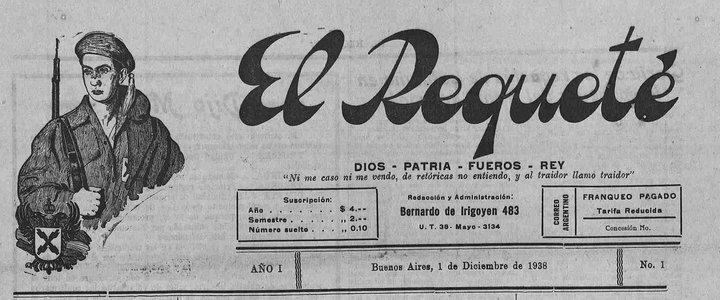 """Periódico """"El Requeté"""""""