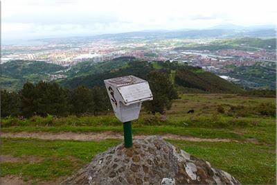 Panorámica desde la cima de Arroletza