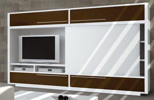 Meuble cachez votre tv - Porte coulissante pour meuble bas ...