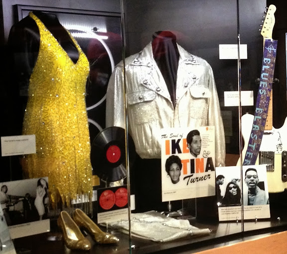 Tina Turner exhibit  at Stax Museum. From 100 Places in the USA Every Woman Should Go