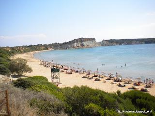 Γέρακας / Gerakas beach